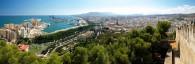 Vista desde el Gibralfaro