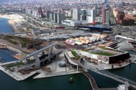 Vista aèria del Parc del Forum